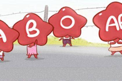 ab型和o型血_血型漫画:AB型血在三国中的身份 - 第一星座网