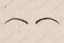 眉毛图片 十六种眉型图片大全