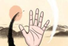 手相 从手指甲看健康图解
