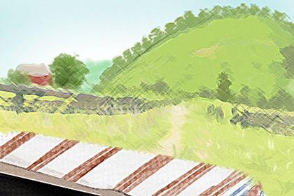 清明谷雨的诗句 关于谷雨节气的故事