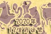 2020十二生肖运程