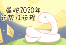 属蛇2020年运势及运程