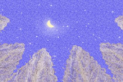 土星冲日天象