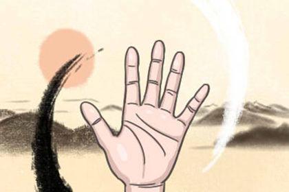 女人手掌手纹正三角和倒三角有什么影响