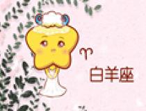 清新森系十二星座图