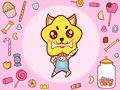 粉色糖果十二生肖图
