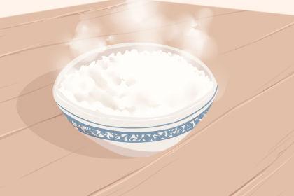 女人吃白米的梦是什么意思