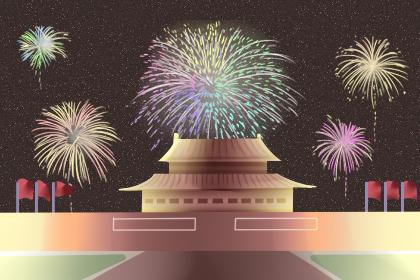 2019阅兵 新中国70周年华诞 共贺新中国成立70周年