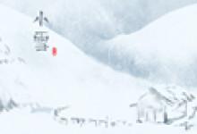 小雪节气手抄报简单的 图片模板大全