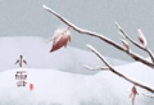 小雪反映的是什么气候现象 后一个节气