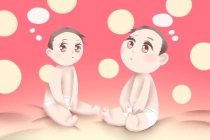 鼠年双胞胎小名男女通用 AABB式洋气的名字