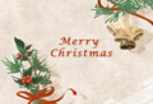 平安夜圣诞节贺卡语 圣诞节狂欢夜