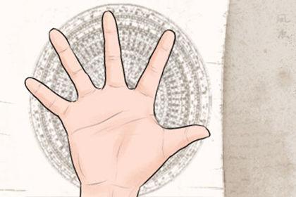 劳碌命的手指是怎样的