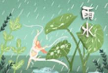 雨水节气祝福句子 问候语