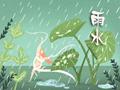 雨水圖片 冬雨的句子