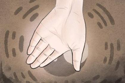 手掌事业线是哪一条线 事业线偏斜手相图解
