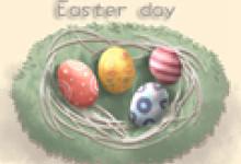 复活节彩蛋的英文 兔子的英文怎么读