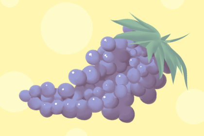 《吃的梦》中的紫葡萄预示着什么