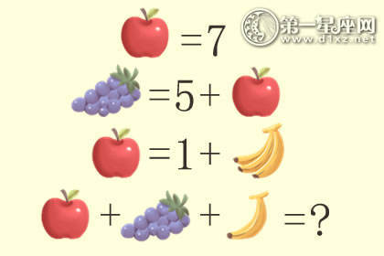 小孩子測試智商 10道智力題及答案大全
