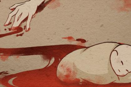 梦见有人死了 谋杀现场有血是什么意思