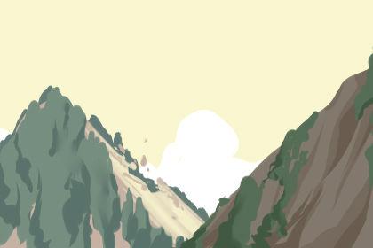 梦见山上的滚石是什么意思