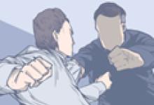 梦见两个熟悉男人打架预示着什么