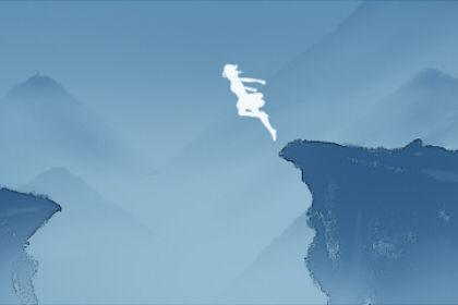 在梦中看到别人从悬崖上掉下来是什么道德标志