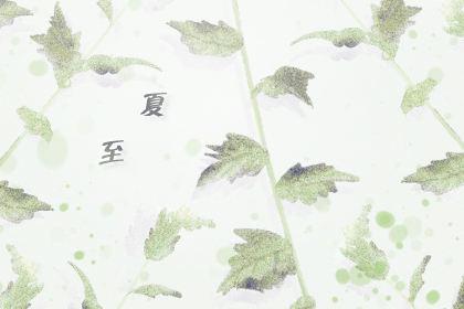 夏至的微信问候语 祝福语录2020