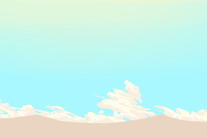 梦见天空特别蓝很美有什么征兆