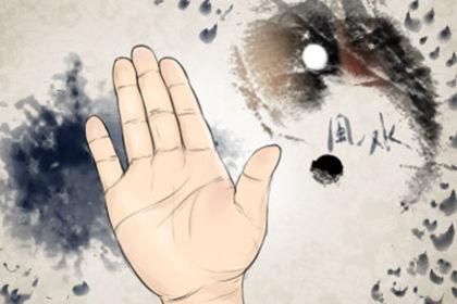 十指指纹算命图解大全