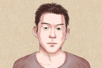 男人有福氣的眉毛圖解分析