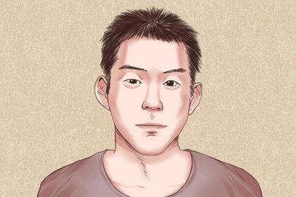 男人有福气的眉毛图解分析