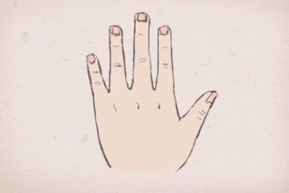 小拇指手相详解 不同形状不同命运