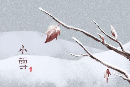 2021年小雪是什么时候几点 11月22日10点33分