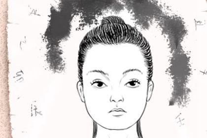 女人脸上长痣面相图 哪个位置长痣不好