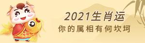 2021生肖运