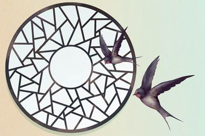双飞燕(无字)