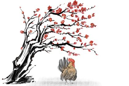 水墨生肖 2.0 鸡4