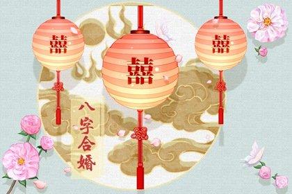 金云纹天青-双喜圆灯笼(有字)