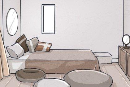 镜子在家中适合摆放在哪里