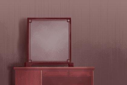 镜子可以挂在大门后面吗