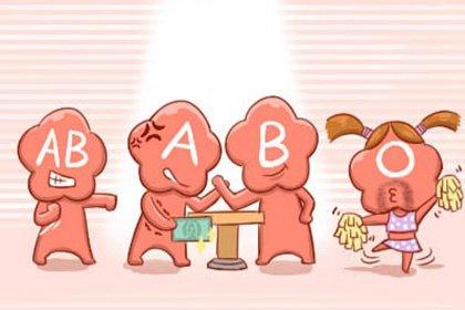 四种血型对应四种气质 O型血是浪漫的化身