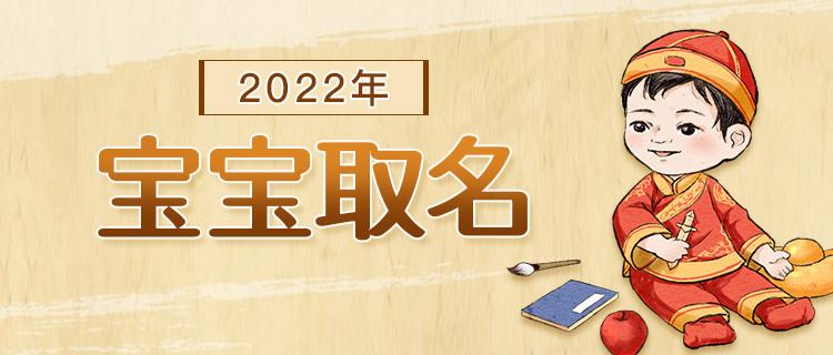 2022年宝宝取名